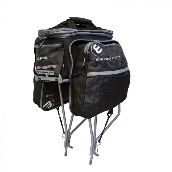 XPS Bicycle Luggage Bag with Foldable Side Pocket