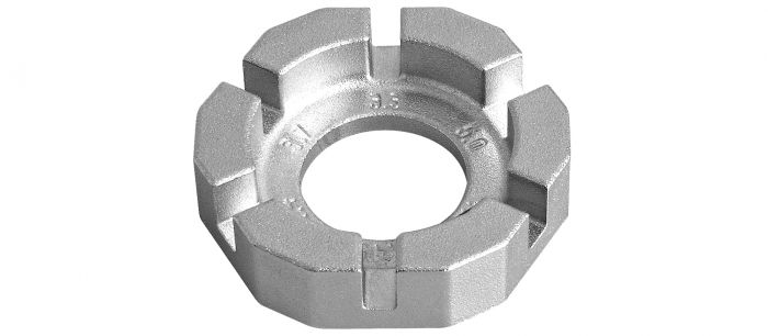 Pocket Triple Spoke Wrench